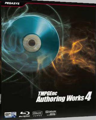 TMPGEnc Authoring Works 4 Full Descarga