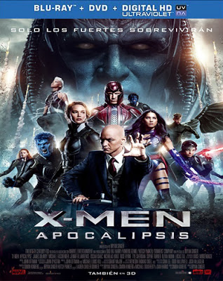 X-Men Apocalipsis (2016) HD 1080p Español Latino