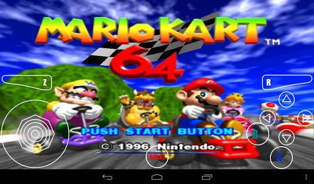 Super Mario Kart 64 para Android