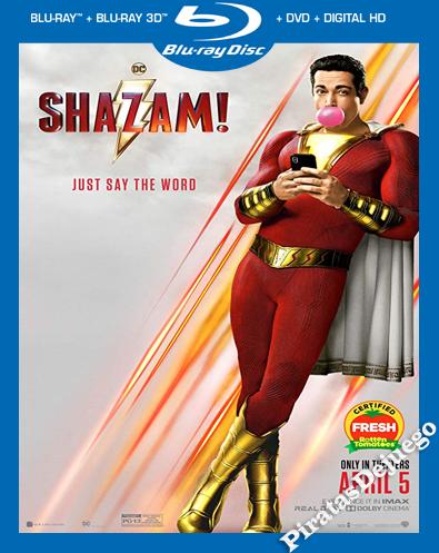 Shazam! (2019) HDRIP 1080P Latino
