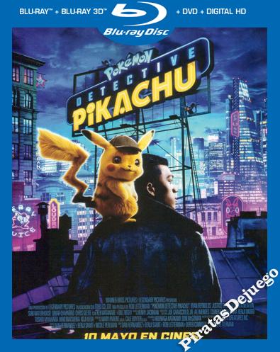 Pokémon: Detective Pikachu (2019) HDRIP 1080P Latino