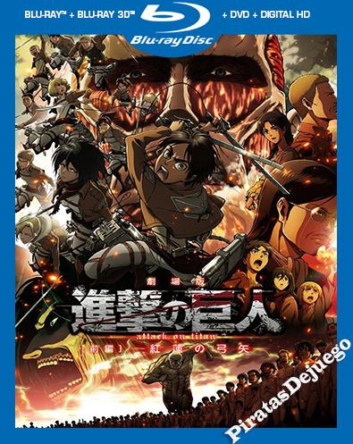 Attack On Titan: EL Arco Y La Flecha Escarlata (2014) HD 1080P Latino