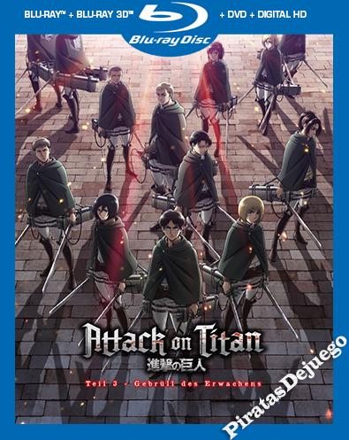 Attack On Titan: El Rugido Del Despertar (2018) HD 1080P Latino